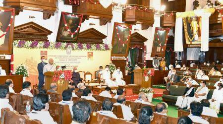 DMK, AIADMK at it again; now over centenary-portrait event in Tamil Nadu