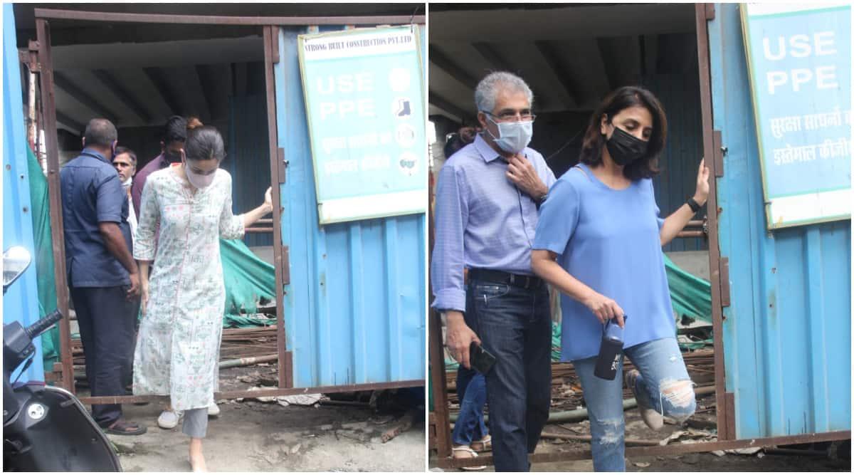 Alia Bhatt and Neetu Kapoor