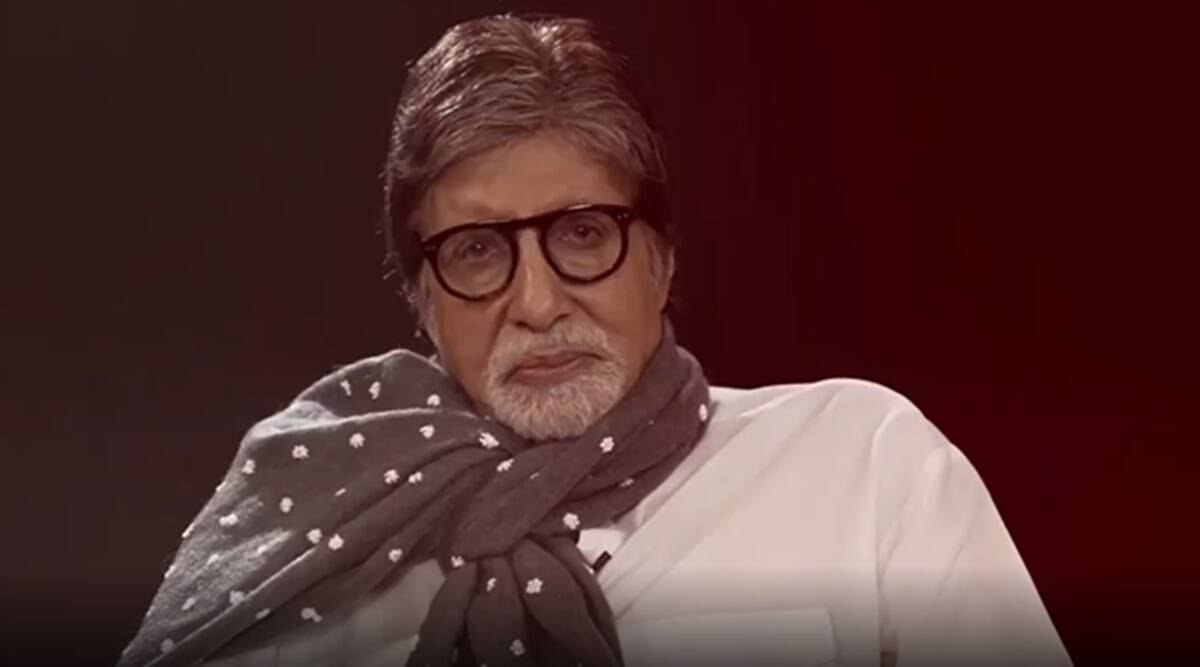Amitabh Bachchan shares a video as he recites a poem titled Chehre written by one of his Ef, watch 1200