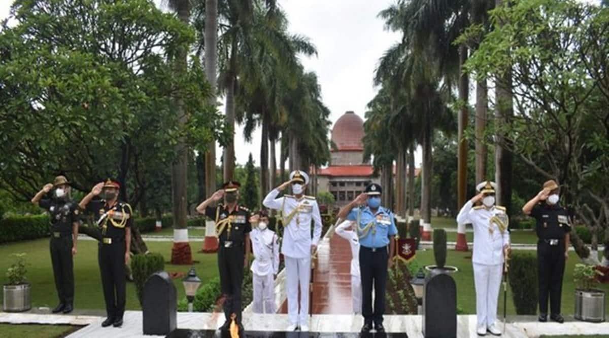 NDA, nda news, nda alma mater, Chief of Air Staff, Air Chief Marshal RKS Bhadauria, Chief of Naval Staff, Admiral Karambir Singh, Chief of Army Staff, General M M Naravane, nda latest news, nda women entry, nda women