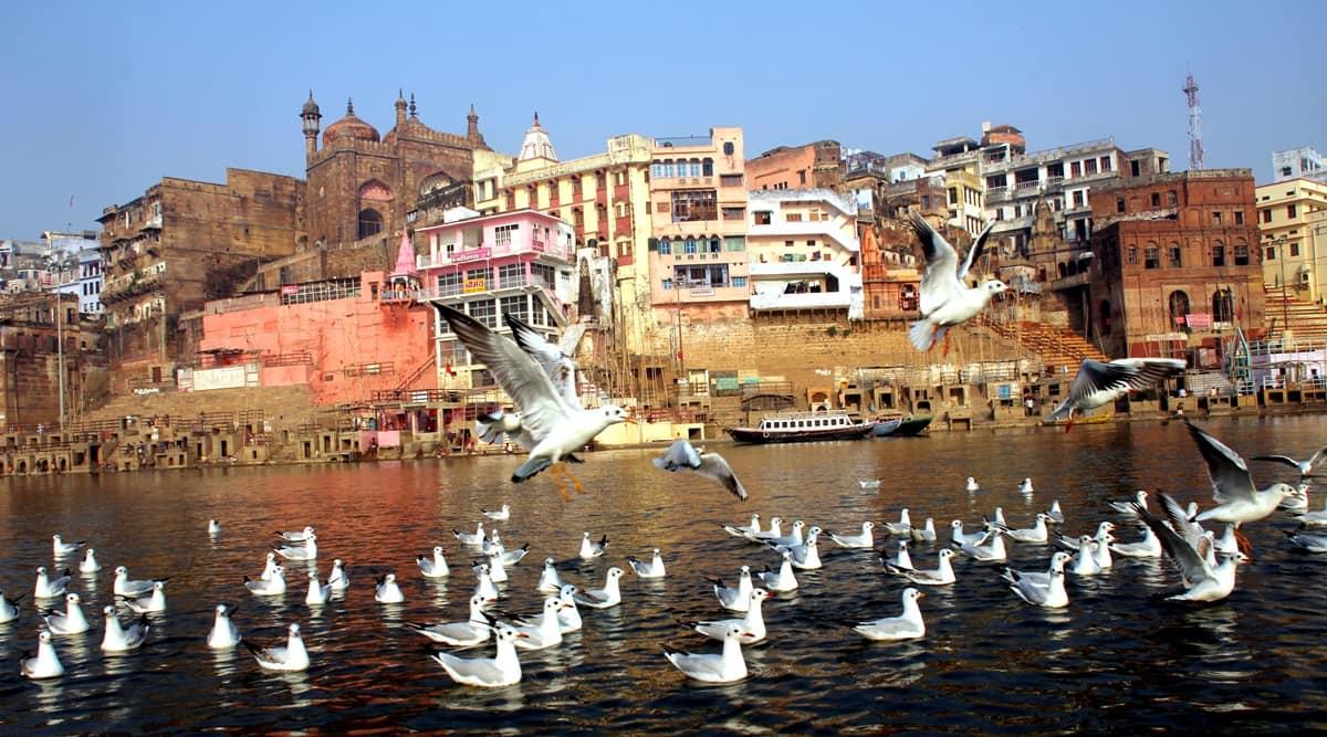Banaras, Assi ghat, indian express