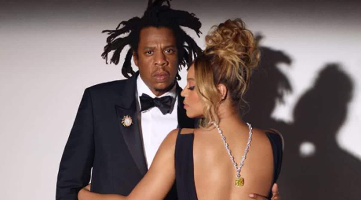 Tiffany & Co., Tiffany & Co. campaign, Tiffany & Co. diamonds, Tiffany & Co. Beyonce and Jay-Z campaign, Tiffany & Co. news, Beyonce Tiffany Yellow Diamond, indian express news