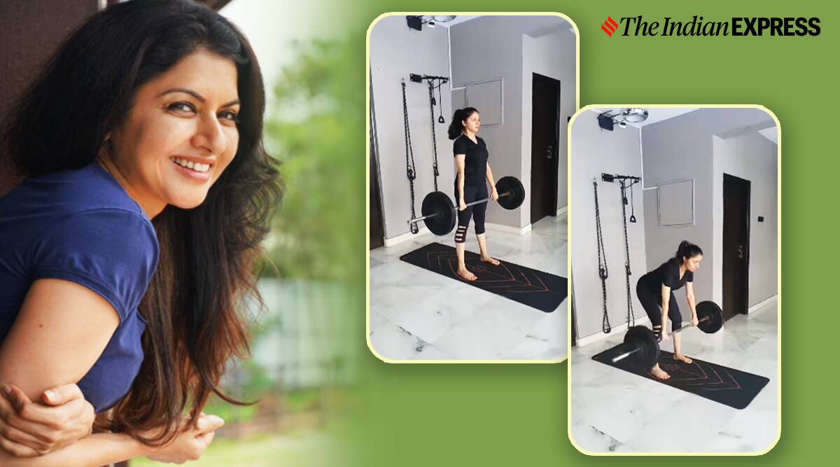 Deadlifts and women, deadlifts and strength training, should women do strength training, bhagyashree fitness, fitness news bollywood, indianexpress.com, indianexpress,