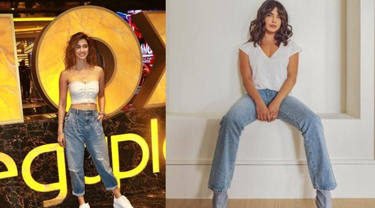 jeans, jeans fashion, how to look fashionable in jeans, how to look fashionable in boyfriend jeans, boyfriend jeans styling tips, fashion, indian express news