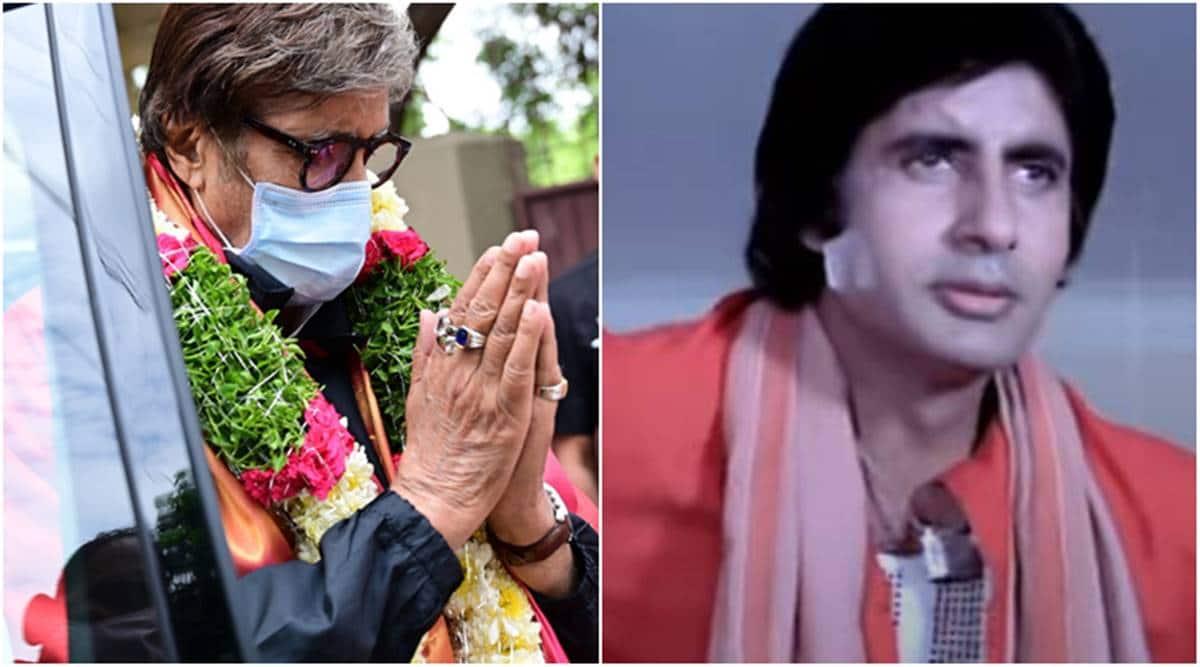 Amitabh Bachchan on Coolie