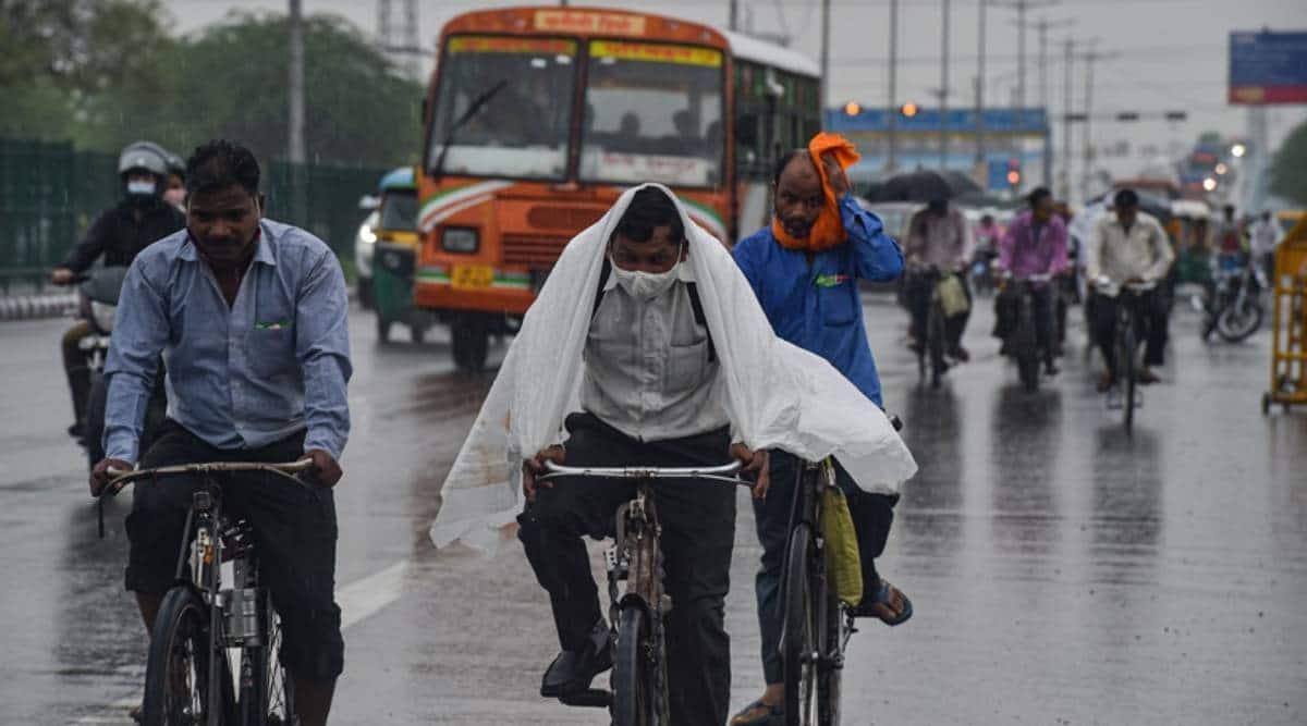 Delhi weather today, Delhi news, Delhi rains, IMD Delhi prediction, IMD, Delhi latest news, Indian express