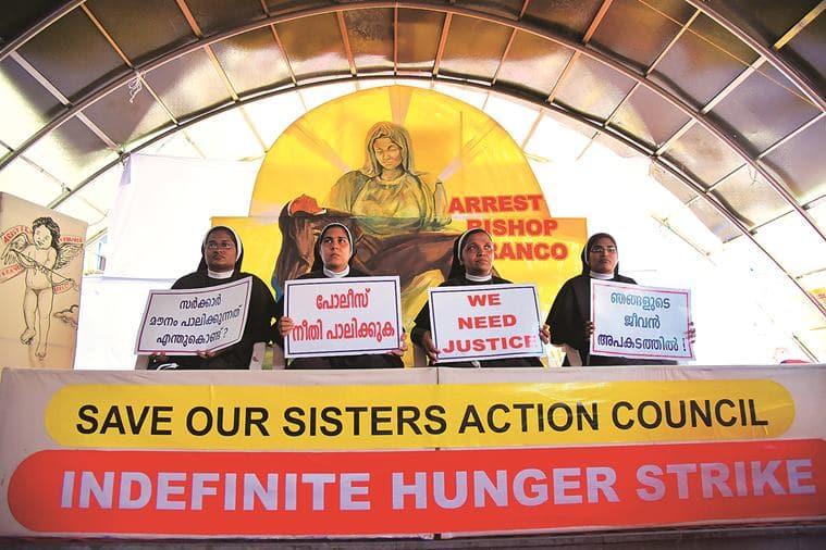 Catholic nuns, Catholic nuns in Kerala, Kerala's Sister Lucy, Kerala nun rape case, patriarchal structure of the Church, eye 2021, sunday eye, indian express news