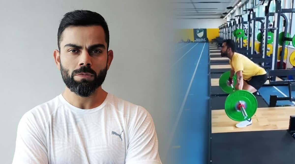 Virat Kohli fitness, virat kohli snatch barbell, virat kohli news, indianexpress.com, Ind vs Eng test, virat kohli fitness goals, indianexpress,
