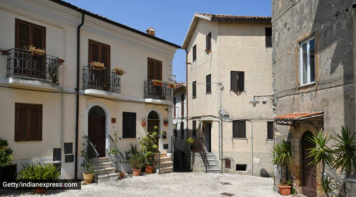 Italy town, Italy village, Italy, villages in Italy, towns in Italy, Italy inviting people, Italy villages inviting people, €1 home in Italy, Italy villages asking people to relocate, tourism, Italy village residents, indian express news