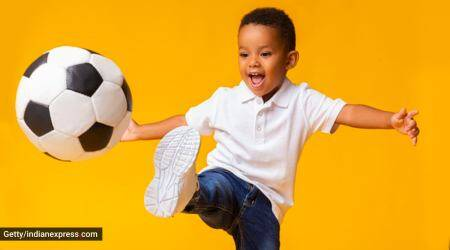 children health, childhood obesity, physical activities for kids, kids playing sports, sports and development in kids, physical activity and health in children, fitness in children, parenting, indian express news