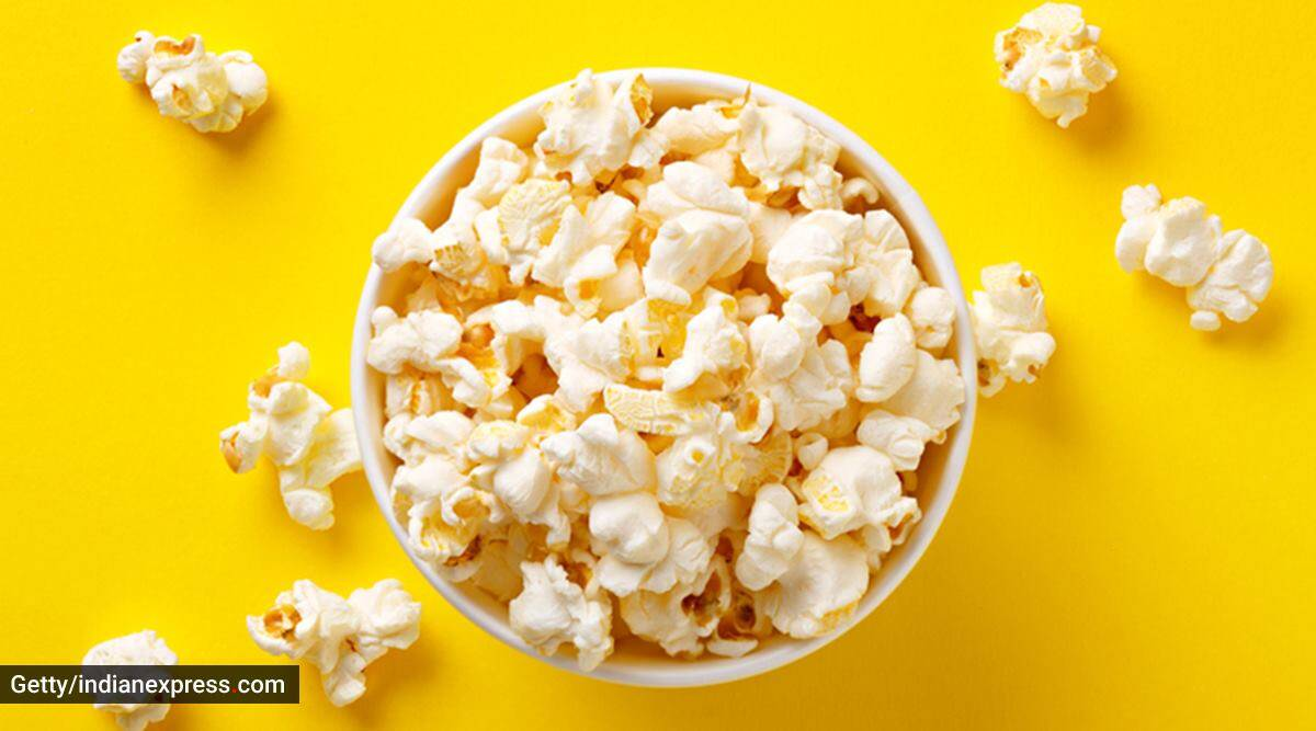 are you eating much, popcorn test, what to know about popcorn test, indianexpress, indianexpress, munmun ganeriwal nutritionist, what is popcorn test, how much eating is too much eating,