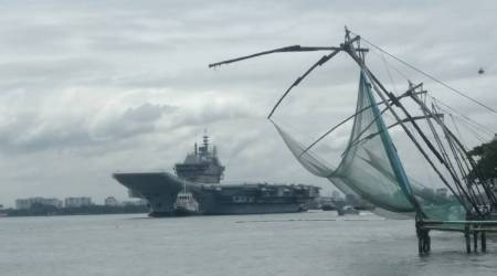 India's 1st indigenous aircraft carrier begins sea trials
