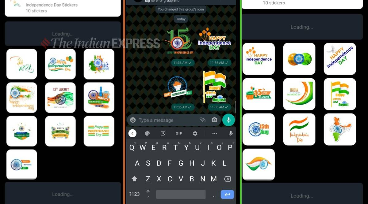 Independence Day 2021, Independence Day whatsapp stickers, Independence Day 2021 wishes, Independence Day 2021 frames,