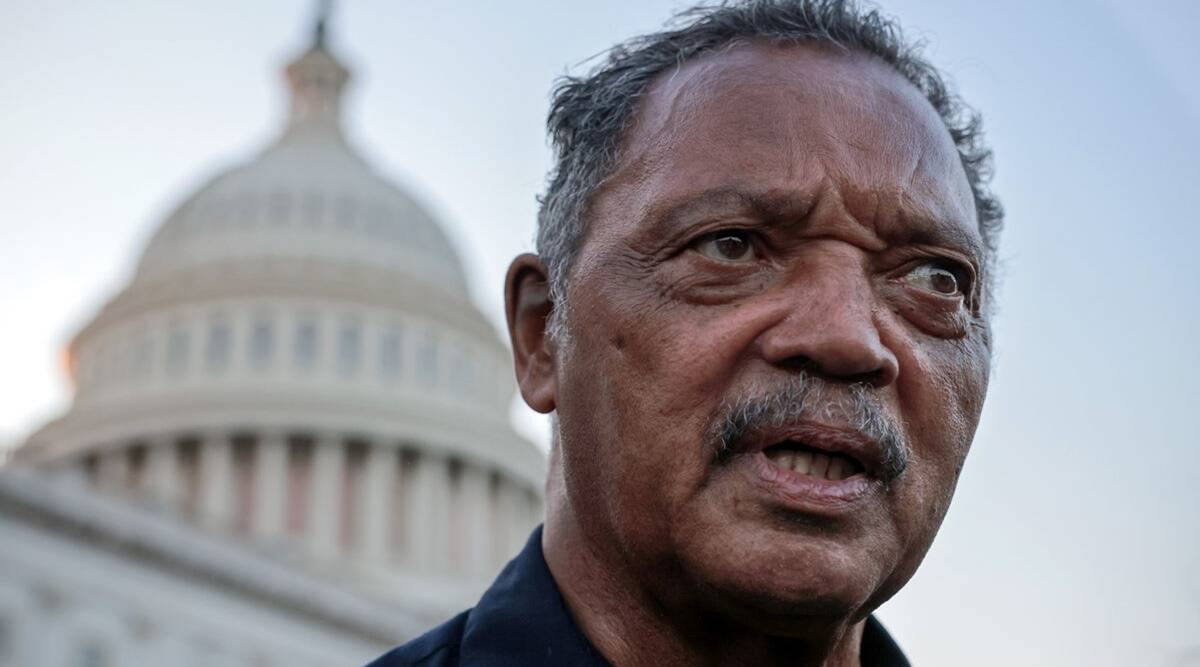 jesse jackson, civil rights leaders, Covid-19, chicago, civil rights movement, Martin Luther King, indian express, indian express news, world news