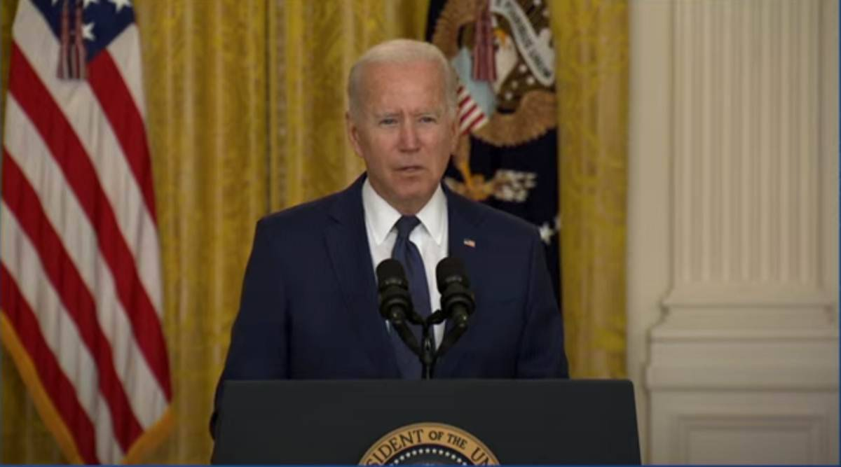 Afghanistan bomb attack, kabul airport attack news, kabul airport news, kabul attack latest news, joe biden kabul attack, taliban news, isis kabul airport, kabul airport news, afghanistan news, world news, indian express news, kabul airport death toll, us troops in afghanistan