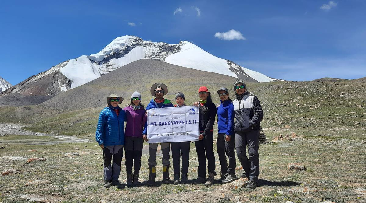 Giripremi's team of women mountaineers scale two 6,000-meter mountains