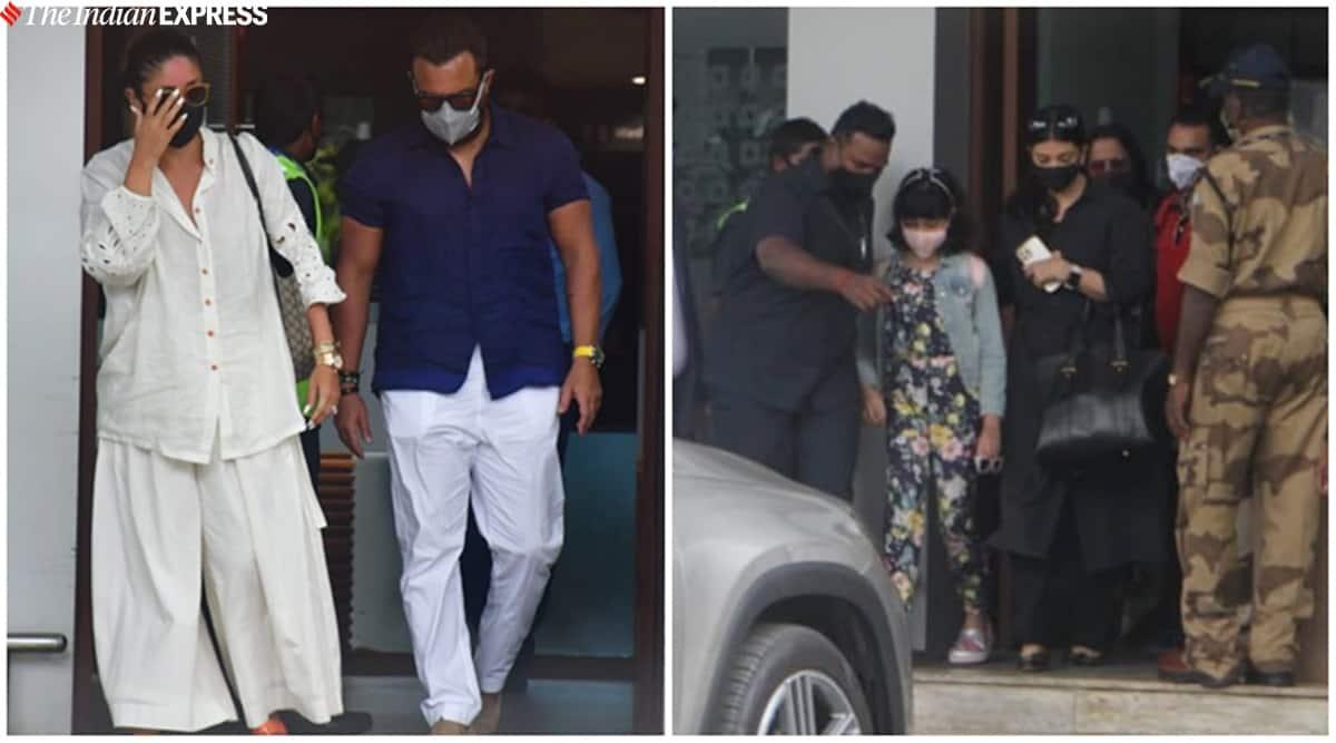 Kareena-Saif and kids Taimur-Jeh are back from Maldives, Aishwarya clicked with daughter Aaradhya Bachchan