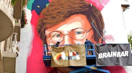 Katalin Kariko, Katalin Kariko covid-19 vaccine, Katalin Kariko mural