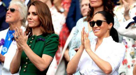 Kate Middleton, Meghan Markle, Duchess of Cambridge, Duchess of Sussex, British Vogue's list of the 25 most influential women of 2021, philanthropy, indian express news