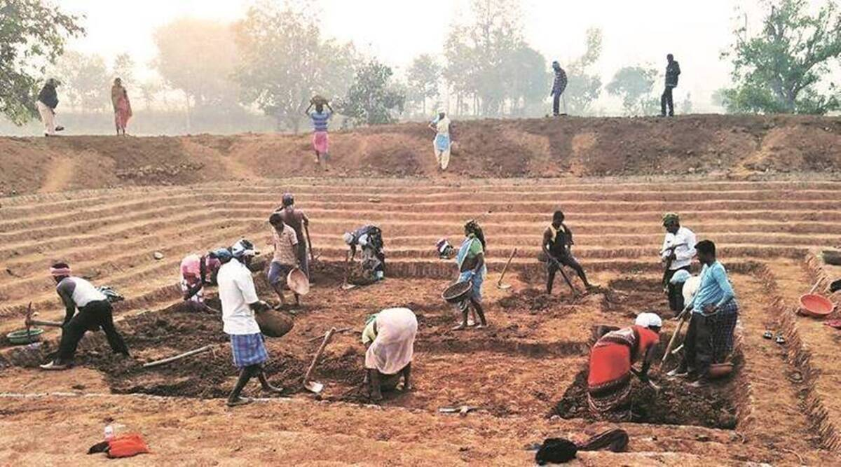 MGNREGA, Congress, corruption, differently-abled, Ministry of Rural Development, Pawan Khera, Indian express, indian express news
