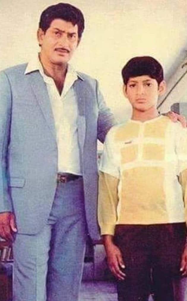 mahesh babu father