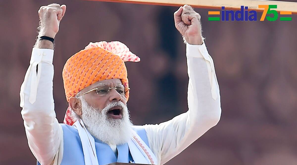 Narendra Modi's Independence Day Speech at Red Fort