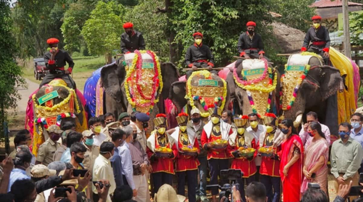 Mysuru Dasara, Karnataka elephants, Dasara Jumbo Savari