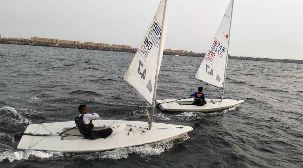 Mysuru, Mysore city, Mysuru sailing competition, Mysore Multi Class Sailing Championship, Bengaluru, Hyderabad, Indian express, indian express news