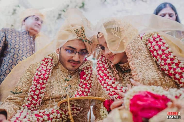 Rumy Jafry's daughter Alfia Jafry wedding