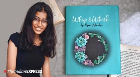 baker, teen baker, baking, teenager, teenager baking, teen baker, author, baker and author Nysa Adurkar, Nysa Adurkar book, Nysa Adurkar baking, book on baking, easy baking recipes, dessert recipes, parenting, indian express news
