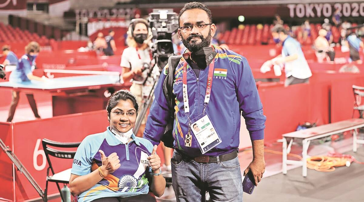 Bhavina's journey to silver medal: Bus rides, shared autos, dodging traffic  while on crutches | Sports News,The Indian Express