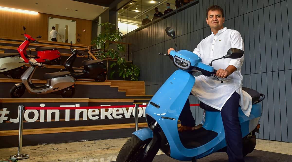 Ola, bhavish aggarwal, ola electric, ola e scooter