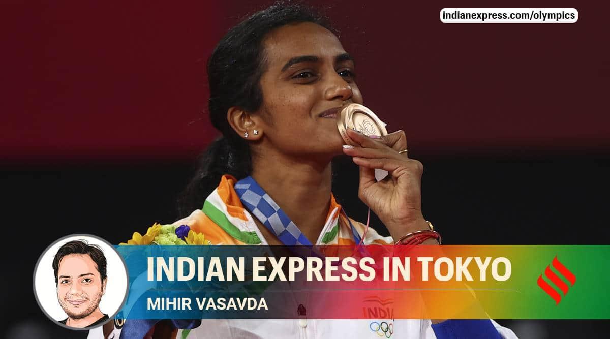 PV Sindhu, PV Sindhu bronze medal, PV Sindhu Tokyo Olympics, PV Sindhu vs He Bingjiao, PV Sindhu first Indian woman 2 olympic medal