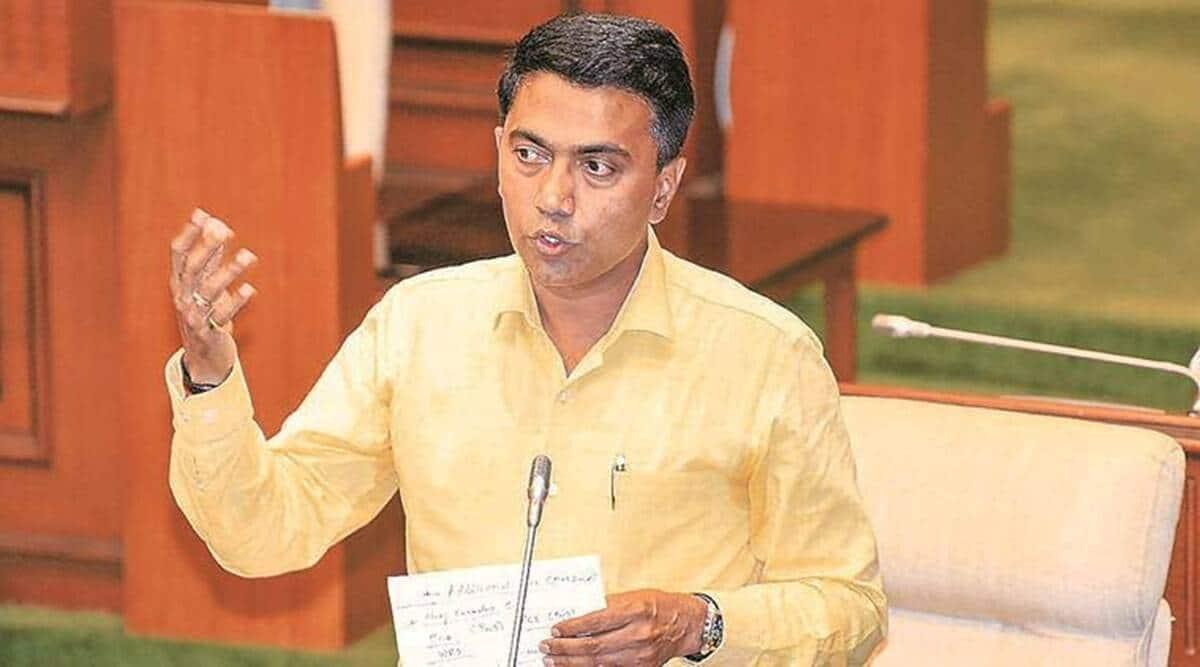 Goa CM Pramod Sawant, Goa Bhumiputra Adhikarini Bill, Goa home ownership bill, Goa Assembly, Bhumiputra Adhikarini Bill, goa Opp walkout, panaji news, goa news, Indian express news