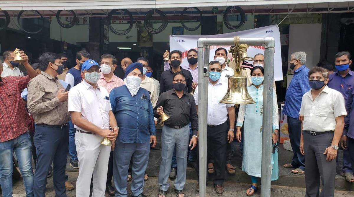 Pune traders, Puen traders protests, Pune shopkeepers, Ajit Pawar, Pune shops timing, Pune covid situation, Pune news, Pune latest news, Pune covid update
