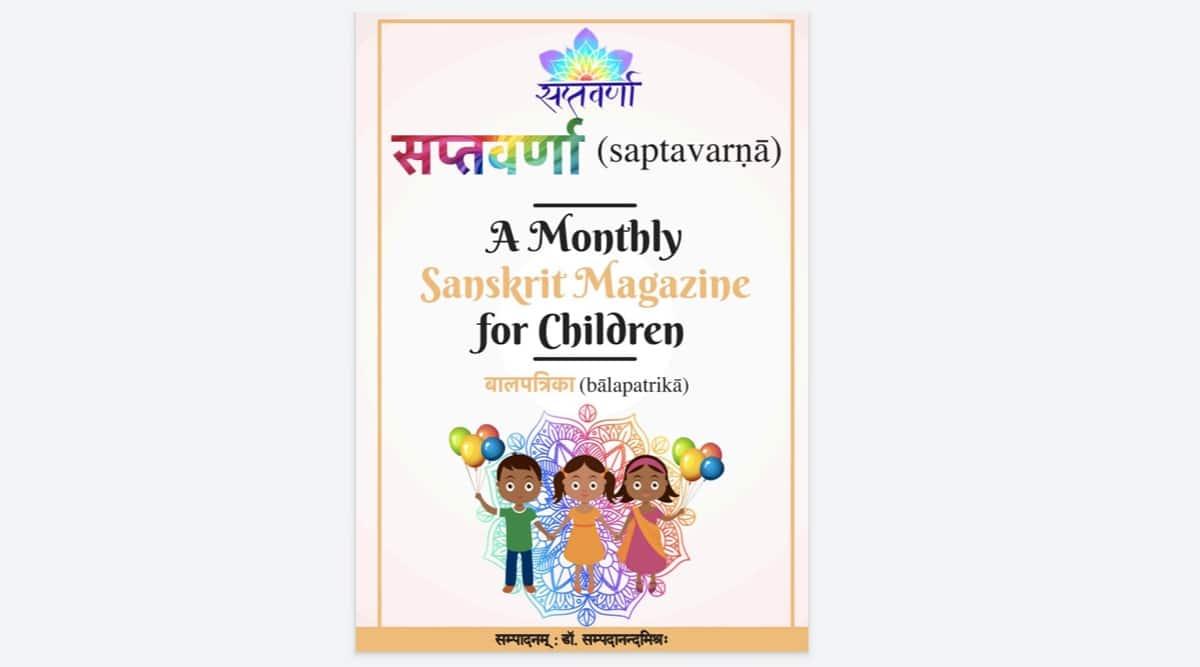 Sanskrit, Sanskrit for kids, teaching Sanskrit to children, Sanskrit magazine for children, learning, parenting, indian express news