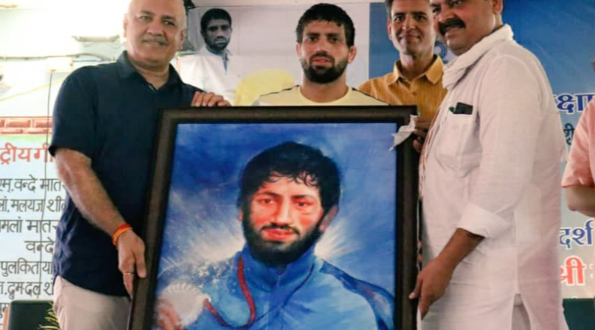 Olympic medallist Ravi Dahiya's school renamed after him