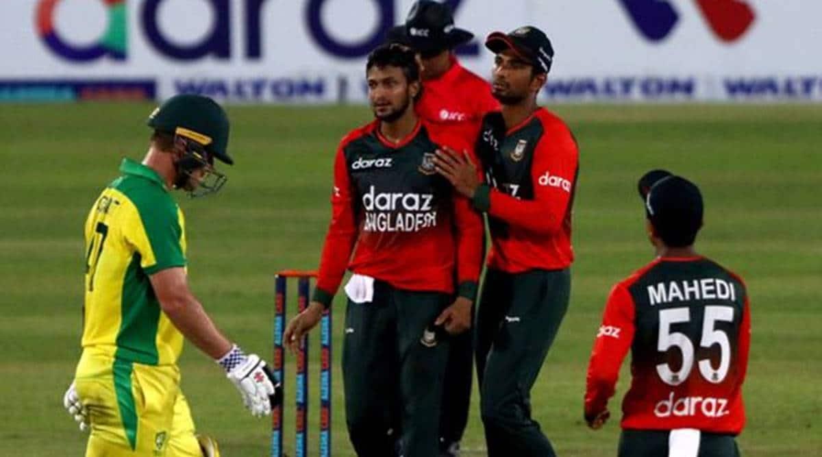 Shakib Al Hasan, Shakib Al Hasan 100 t20 wickets, bangladesh vs australia 5th t20, australia tour of bangladesh 2021
