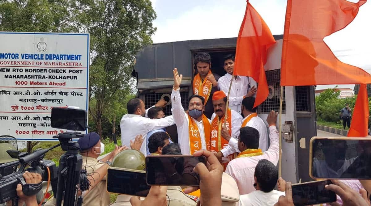 Shiv Sena, Maharashtra Karnataka border tension, Covid test, RT-PCR for entry into Maharashtra, Maharahstra government, Pune news, India news, Indian express