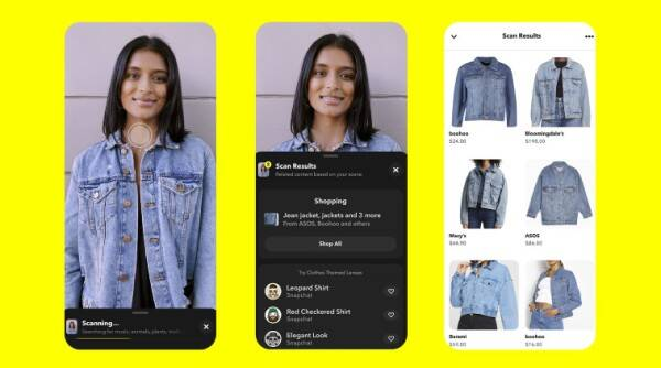 Snapchat, Snap scan.