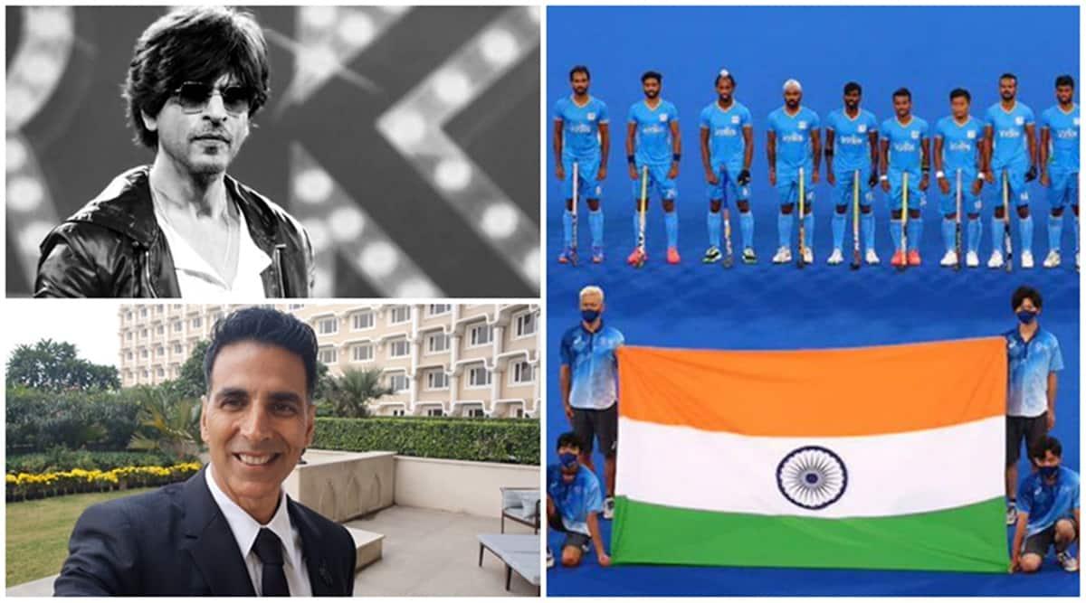 Tokyo Olympic 2021 Men hockey team win bronze, Shah Rukh Khan, Akshay Kumar and others celebrate