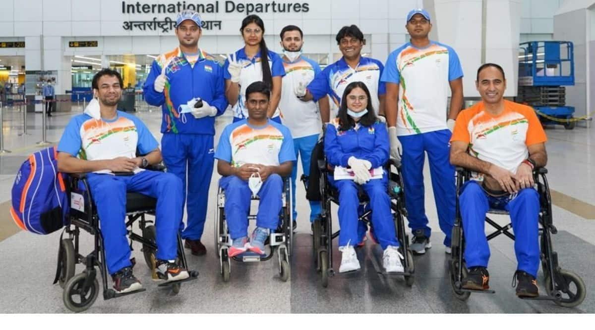 Indian contingent at Paralympics 2020