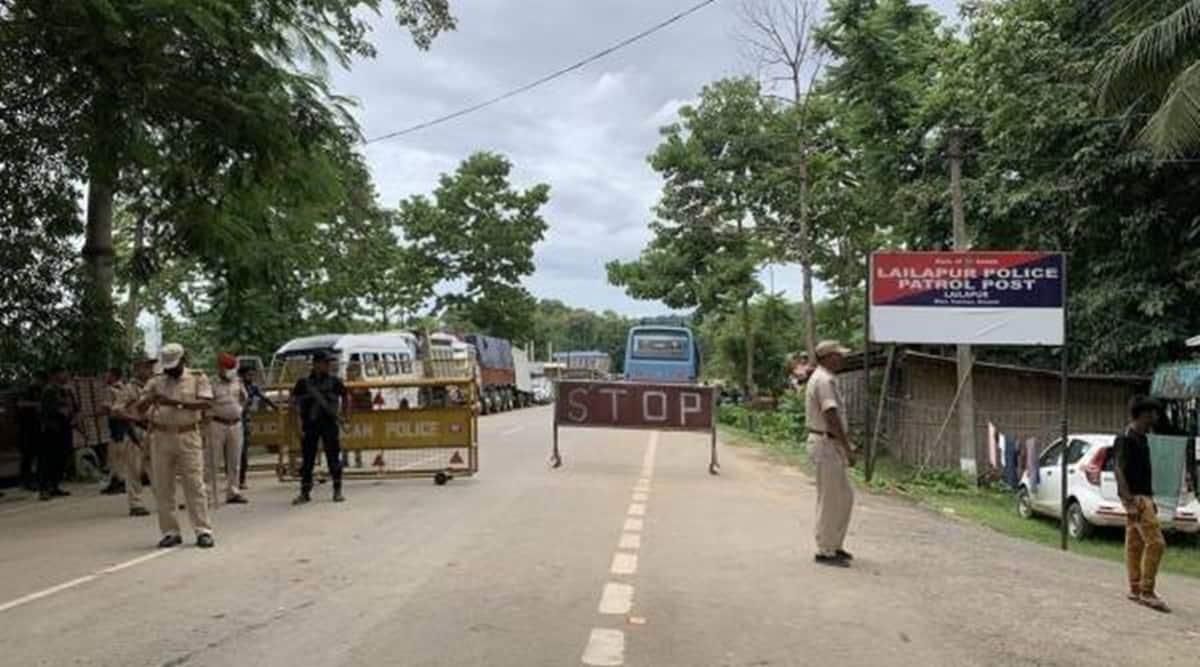 Tension along Assam-Mizoram border escalates over fresh firing incident