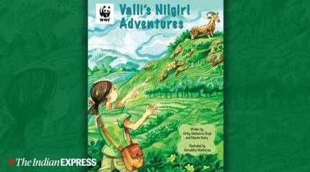 endangered Nilgiri Tahr, book on endangered Nilgiri Tahr, comic book on endangered Nilgiri Tahr, Valli's Nilgiri Adventures, children's comic book, parenting, indian express news