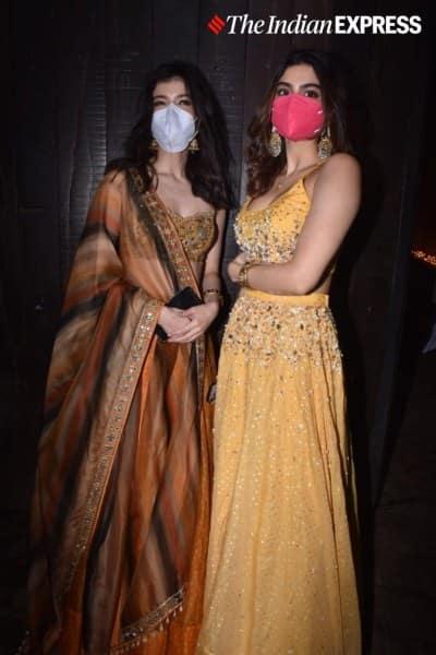 Khushi Kapoor and Shanaya Kapoor