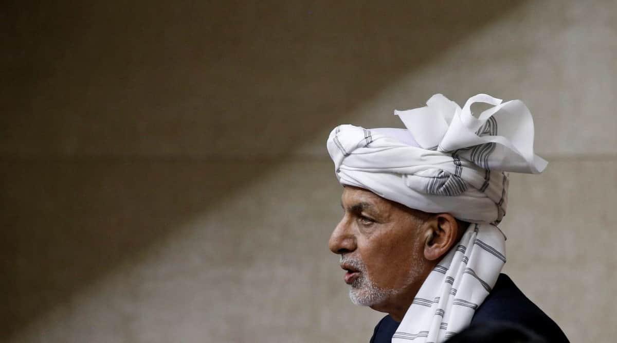 Ashraf Ghani, Afghanistan, Afghan President, Afghan taliban, taliban, Hamid Karzai, Doha, afghanistan capital, Kabul, indian express, indian express news, world news, afghanistan news