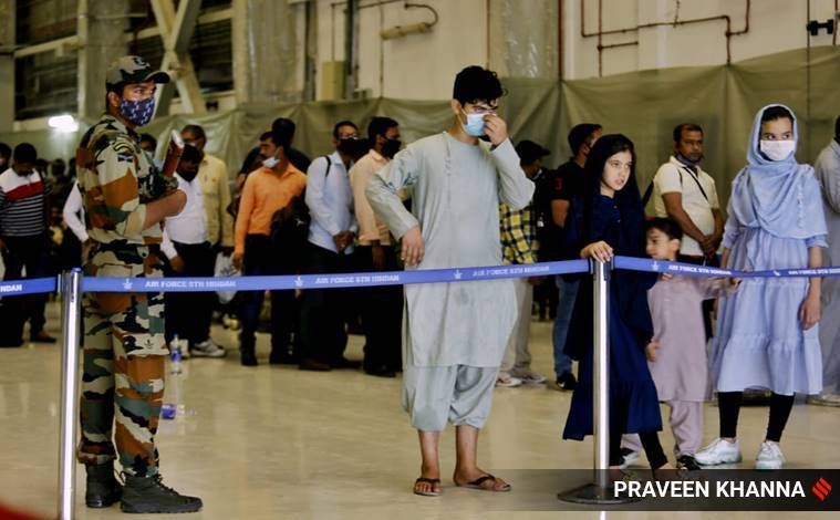 168, including two Afghan MPs, arrive from Kabul: 'Nothing is left. It's zero...'