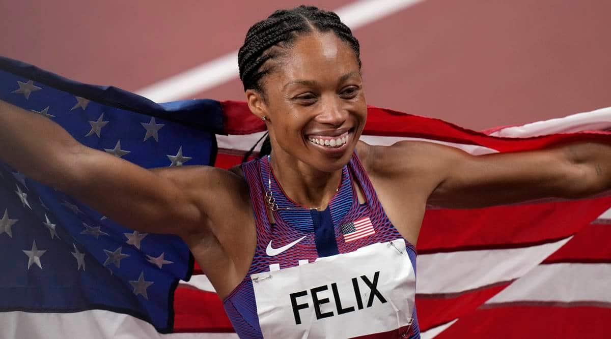 Allyson Felix , tokyo 2020, Olympics