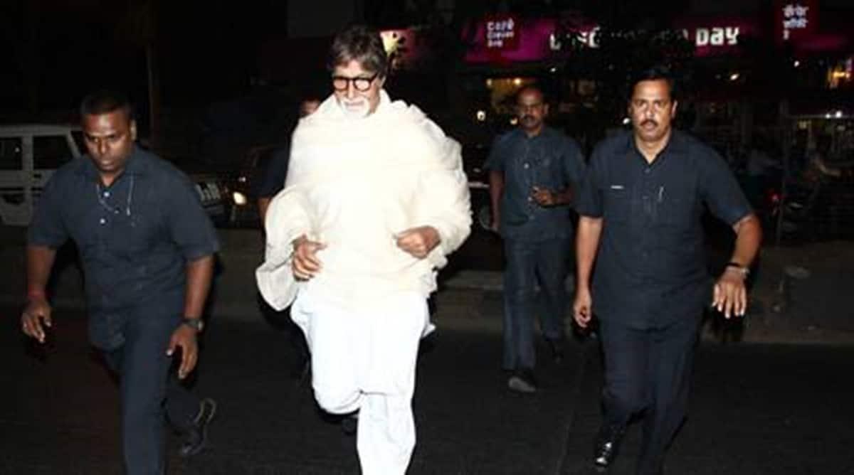 Amitabh bachchan body guard posting