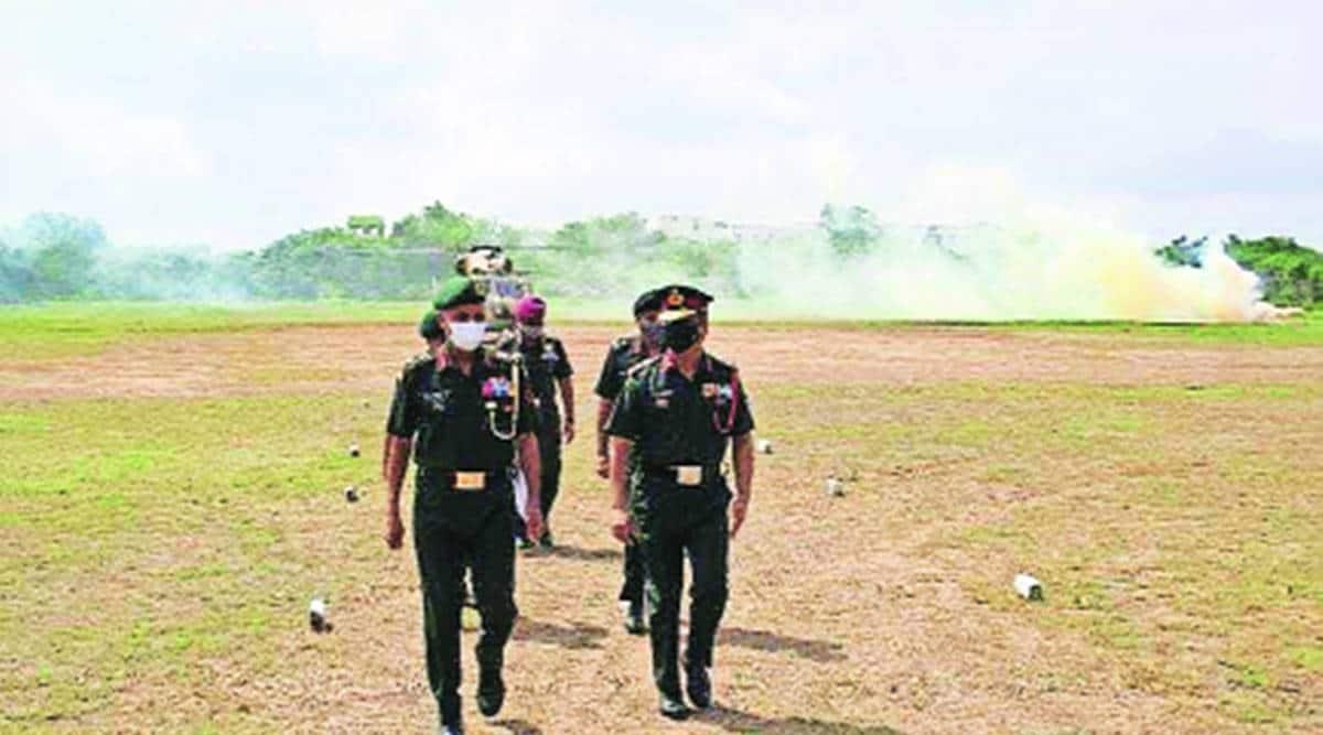 Southern Army Commander visits Shivneri Brigade